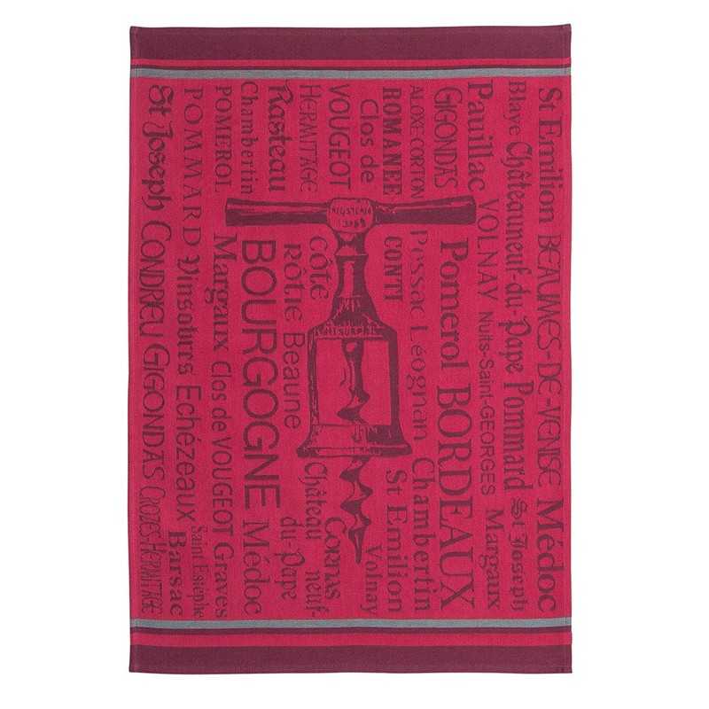 French Dish Towel - Tire-Bouchons - Coucke