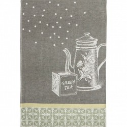 French Dish Towel - Green...