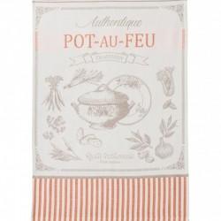 French Dish Towel - Pot au...
