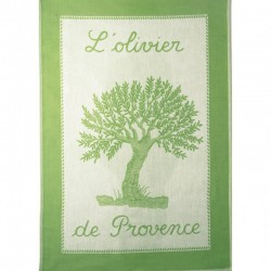 French Dish Towel - L'Olivier - Coucke