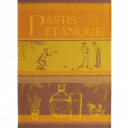 French Dish Towel - Pastis...