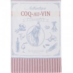 French Dish Towel - Coq au...