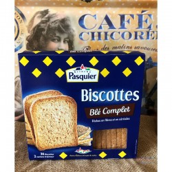 Whole Wheat Biscottes -...