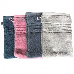 French Pocket Washcloth - Assorted Colors - Organic Cotton