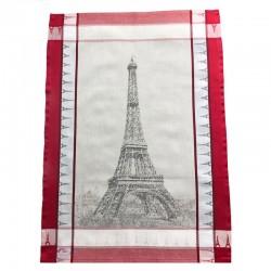 French Dish Towel - Eiffel Tower