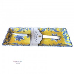 Melamine Porto Tray with Knife - Le Cadeaux