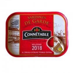 Sardines de Garde in Extra Virgin Olive Oil - Connétable