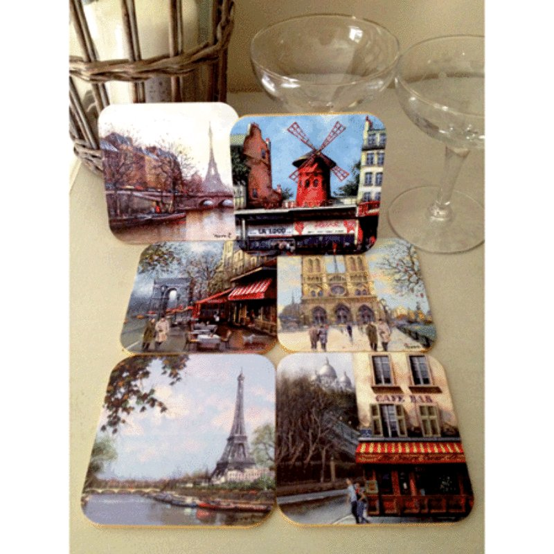 French Coasters - Paris Nowadays