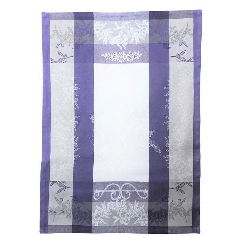 French Dish Towel - Poppy - Lavender