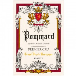 French Image Dish Towel - Pommard - Wine Collection Torchons et Bouchons