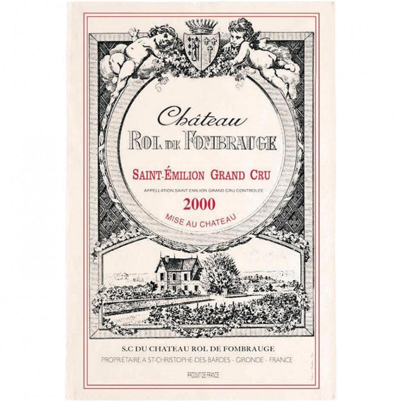 French Image Dish Towel - St Emilion - Wine Collection Torchons et Bouchons