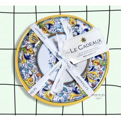 Melamine Florence Appetizer Set - Le Cadeaux