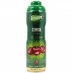 Teisseire Cherry Syrup by the Case - 6 bottles