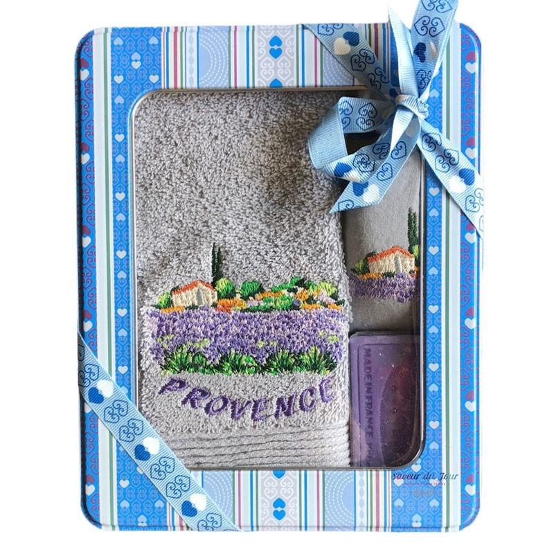 Provence Gift Set - Lavender Grey - Coton Blanc