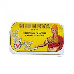 Sardines in Olive Oil - Minerva