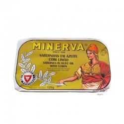 Sardines in Olive Oil with Lemon - Minerva