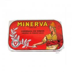 Sardines in Olive Oil in Tomato Sauce - Minerva