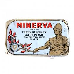 Tuna Fillets in Spicy Olive Oil - Minerva