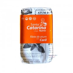 Gourmet Tuna Fillets in Olive Oil with Curry - Santa Catarina