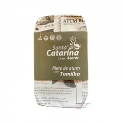 Gourmet Tuna Fillets in Olive Oil with Thyme - Santa Catarina