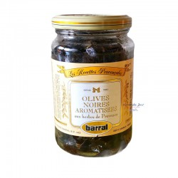 Black Olives with Provence Herbs - Barral