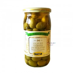 Green Olives Picholines - Barral