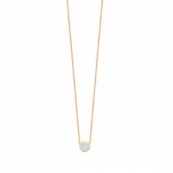 Amie Necklace with Cubic...