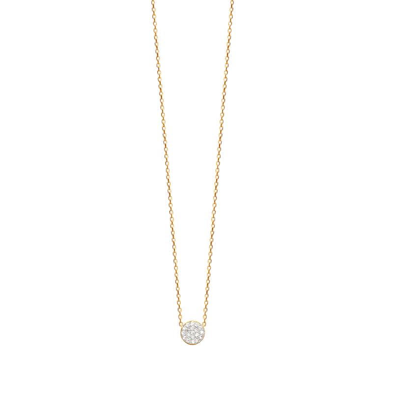 Amie Necklace with Cubic Zirconia | Avenue Petit Lou