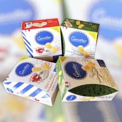 Gavottes Mini Crepes Dentelle Boursin Cheese with Garlic & Herbs - Loc Maria