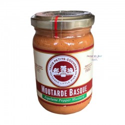 Basque Mustard with Espelette Peppers - Trois Petits Cochons
