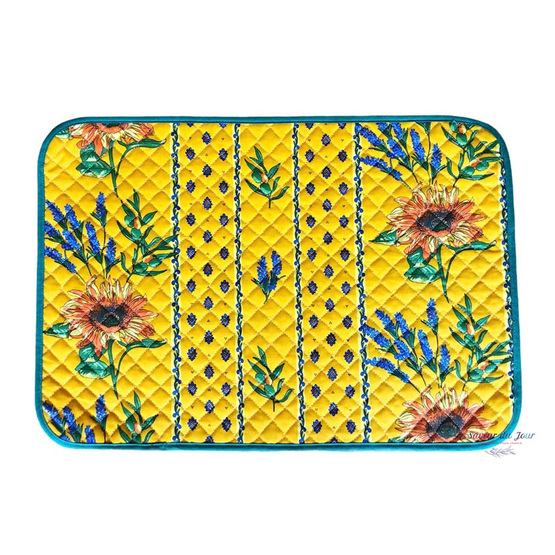 Provence Placemat - Sunflower Yellow