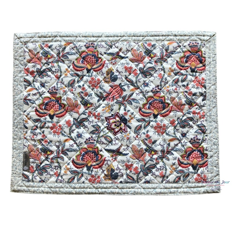 Provence Placemat - Colombe White - Valdrome
