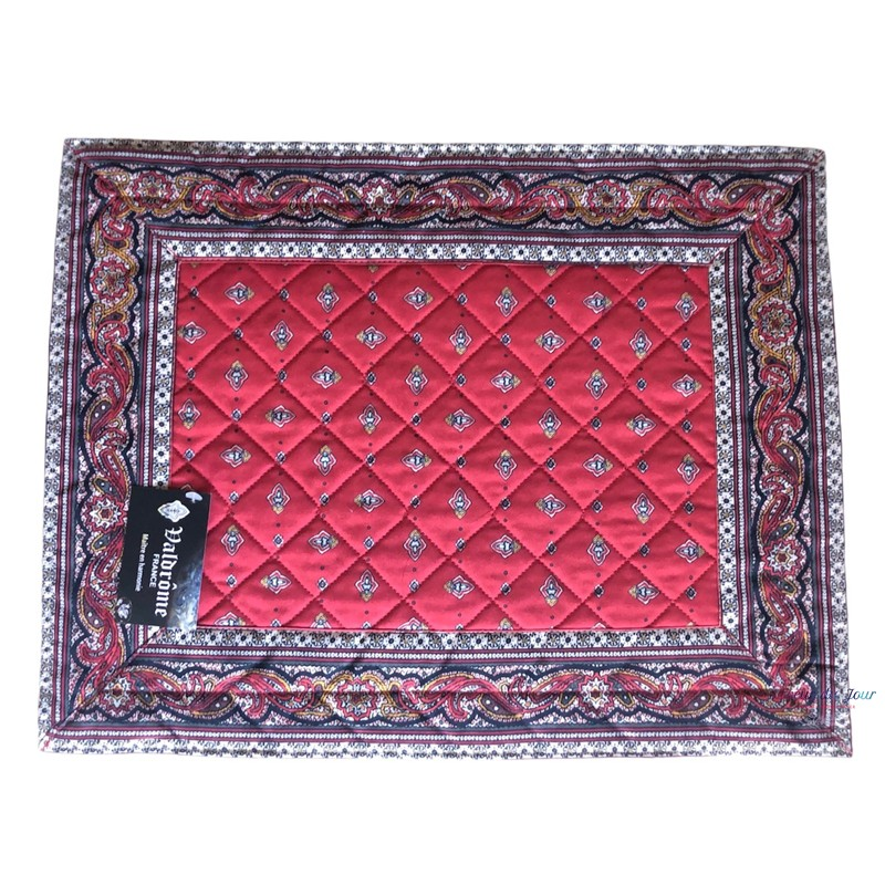 Provence Placemat - Calissons Red - Valdrome
