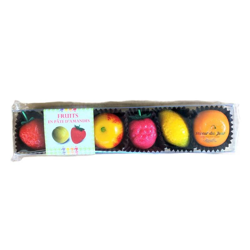 Provence Almond Paste Fruits - Maffren Canteperdrix