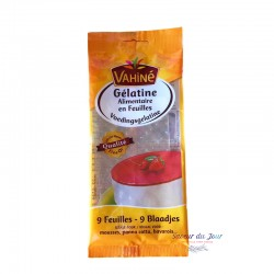 French Gelatin Sheets - Vahine