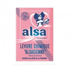 French Baking Powder - Alsa
