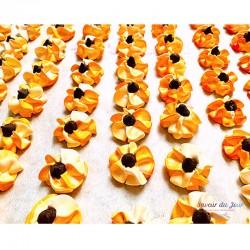 Orange Chocolate Meringues Box - Délice Glacé