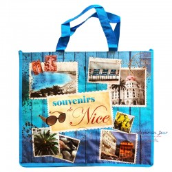 French Tote Bag - Souvenirs de Nice