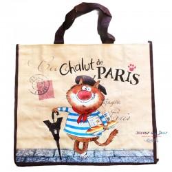 French Tote Bag - Paris Chalut