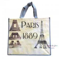 French Tote Bag - Eiffel...