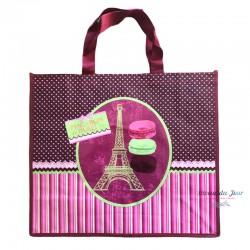 French Tote Bag - Macarons...