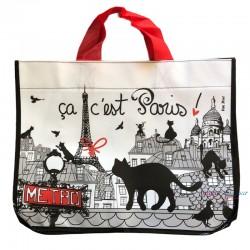French Tote Bag - Ca c'est Paris