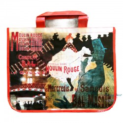 French Tote Bag - Moulin Rouge La Goulue