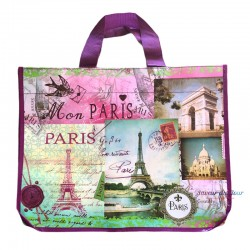 French Tote Bag - Mon Paris