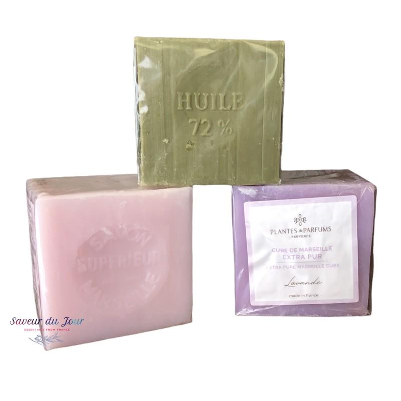 Marseille Soap Cubes - Plantes et Parfums