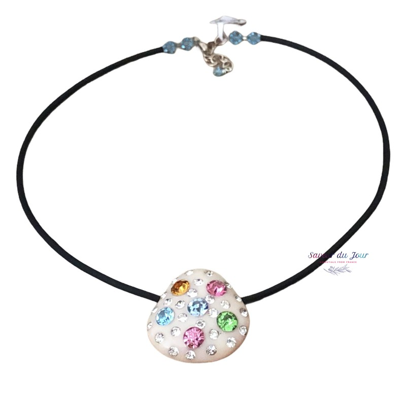 Multicolore Brillant - Vintage Pendant Necklace