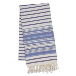 Fouta Towel - Indigo Stripes