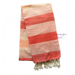 Fouta Towel - Large - Coral...