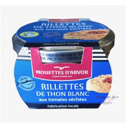 Tuna Rillettes w/ Sundry Tomatoes - Mouettes d'Arvor