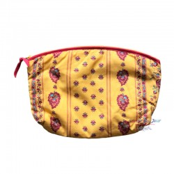 Provence Pouch - Palmette Yellow - Large